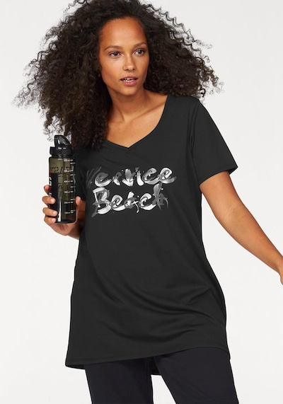 VENICE BEACH Longshirt in schwarz, Produktansicht