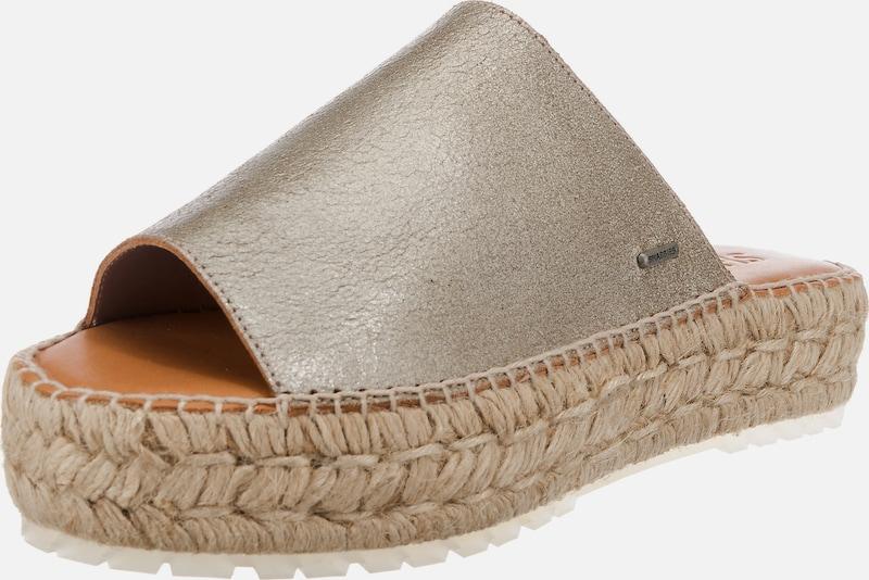 SHABBIES AMSTERDAM | ESPADRILLE METALLIC LEATHER Schuhe Plateau-Pantoletten Schuhe Gut getragene Schuhe LEATHER 4d9eaf