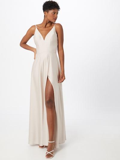 Unique Kleid in champagner, Modelansicht