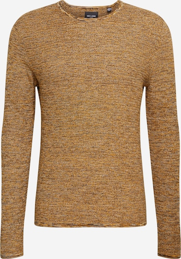 Only & Sons Pullover 'WICTOR 12' in senf, Produktansicht