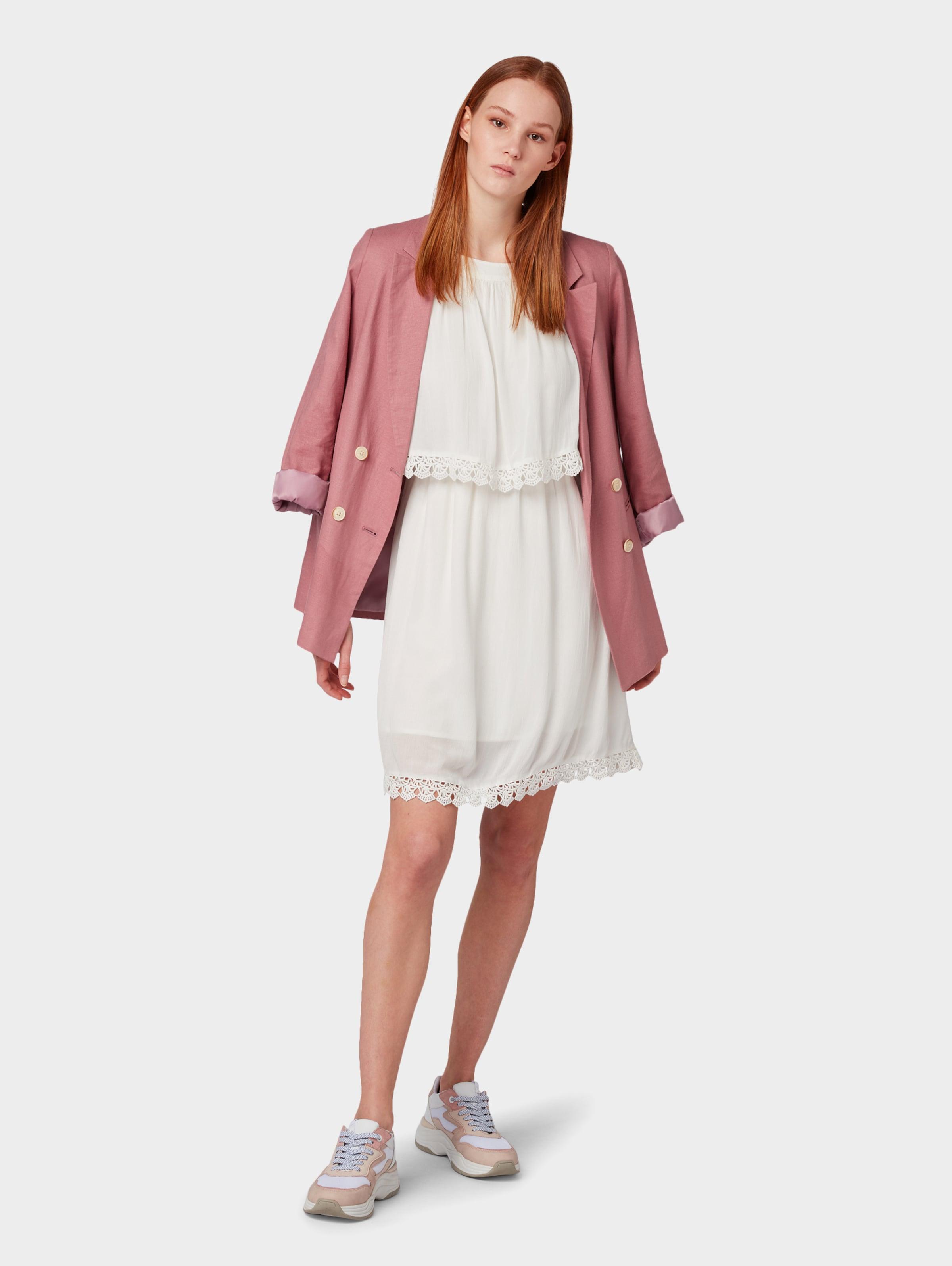 Crochet D'été Tailor Lace' Tom Robe Dress Denim 'mini En Blanc WD2EH9I