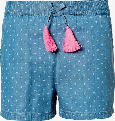 STACCATO Shorts in blue denim / pink / weiß, Produktansicht