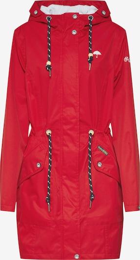 Schmuddelwedda Mantel in rot, Produktansicht