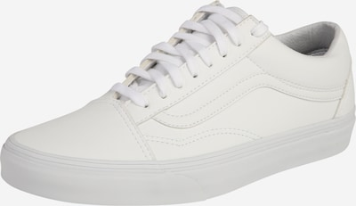 VANS Baskets basses 'Old Skool' en blanc, Vue avec produit