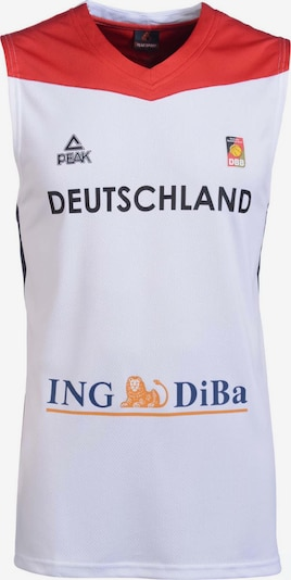 PEAK Single Jersey Women 2016 Germany in weiß: Frontalansicht