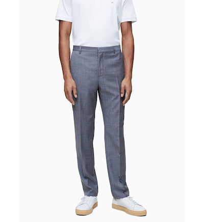 Calvin Klein Hose in blau, Modelansicht