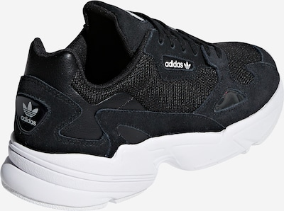 ADIDAS ORIGINALS Falcon Sportmode Sneakers Schuhe in schwarz: Rückansicht
