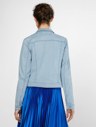 VERO MODA Jeansjacke 'HOT SOYA' in blau: Rückansicht