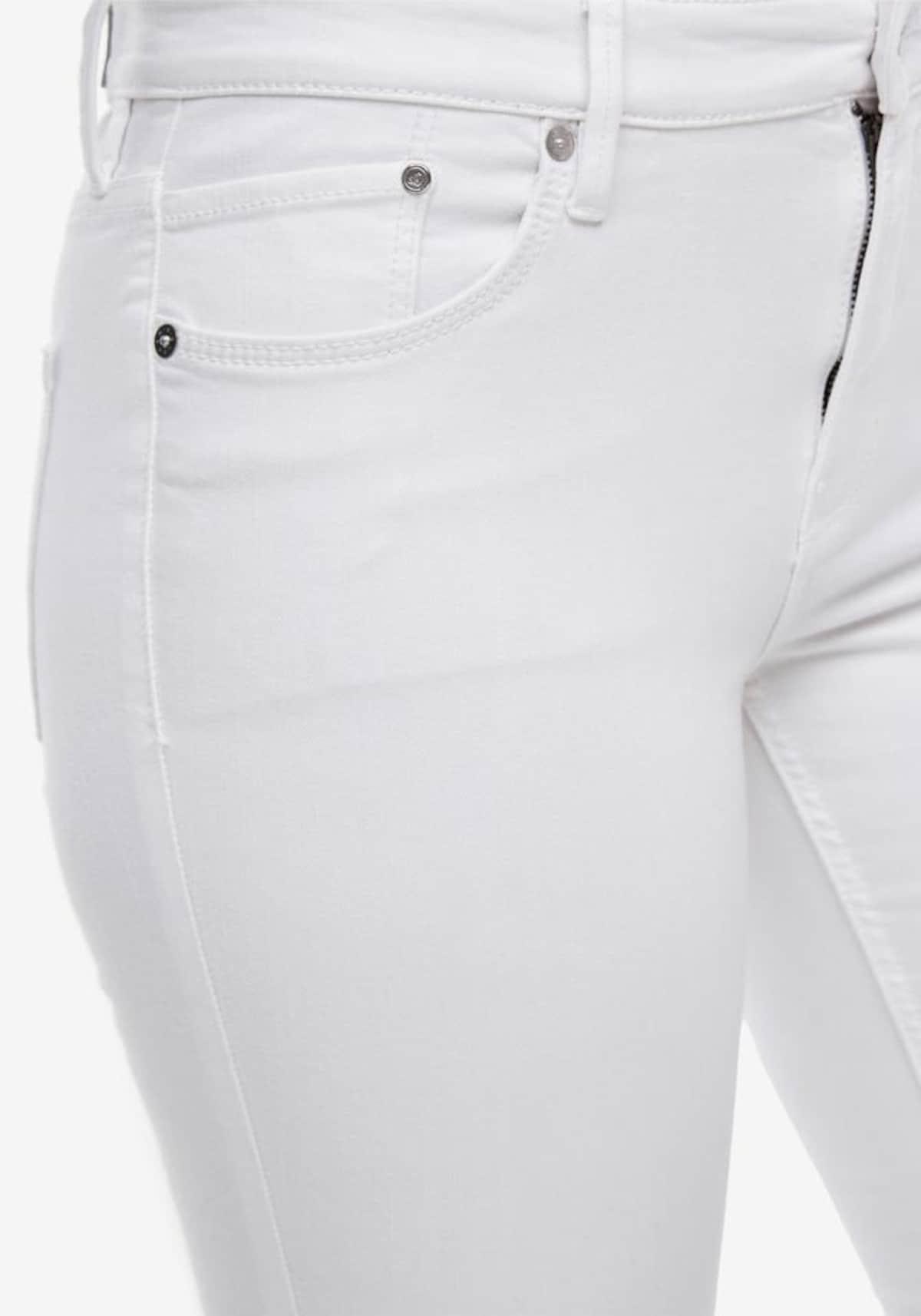 Beliebt Frauen Bekleidung s.Oliver Jeans in white denim Zum Verkauf