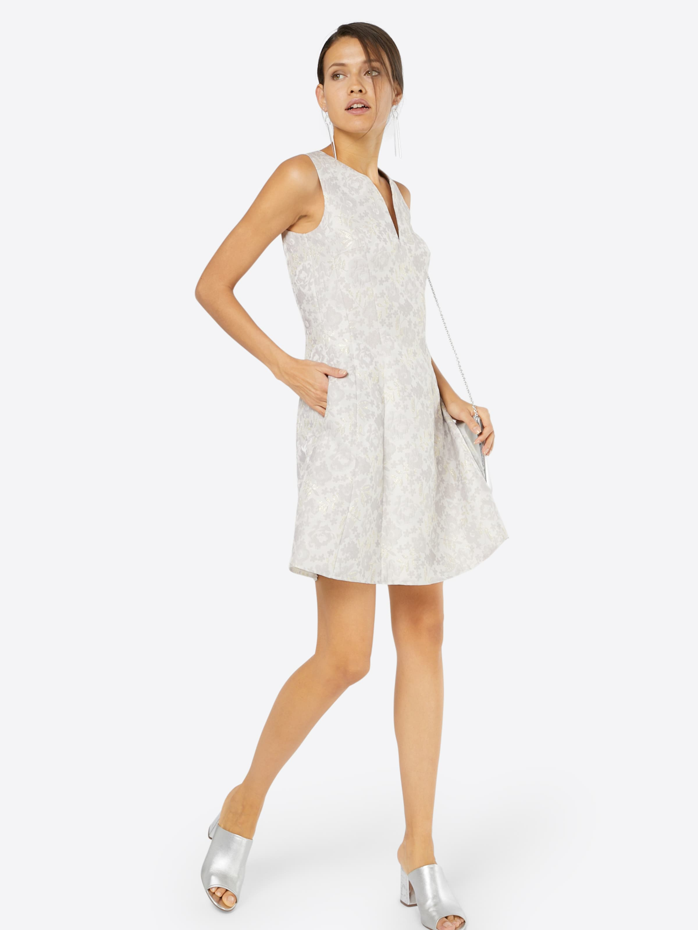 Cocktail En Swing De OrGris Blanc Robe qSVpUzM