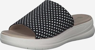 REMONTE Pantolette in schwarz / weiß, Produktansicht