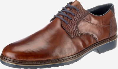 RIEKER Čevlji na vezalke | rjasto rjava barva, Prikaz izdelka