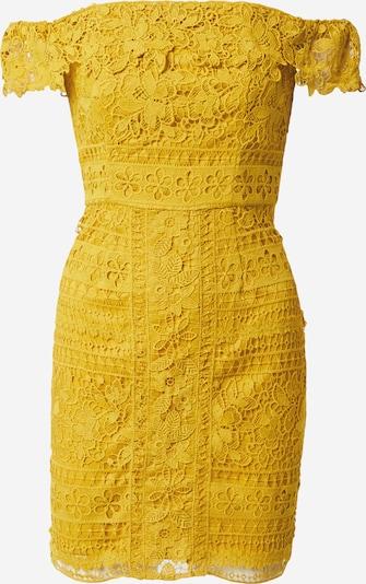 Chi Chi London Kleid 'Amaleah' in senf, Produktansicht