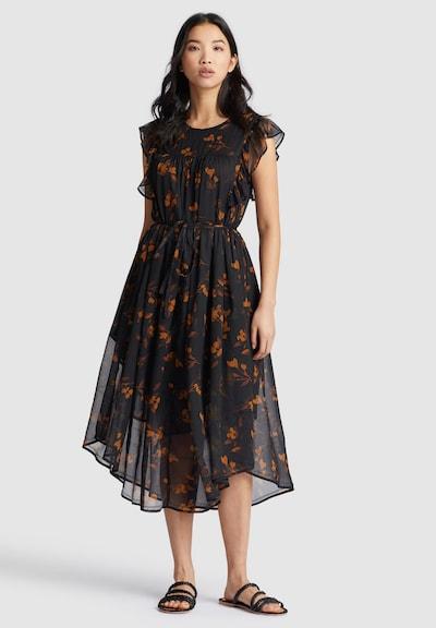 khujo Kleid ' ANISA ' in braun / schwarz, Modelansicht