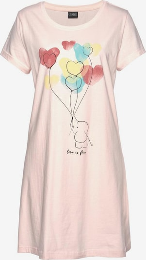 VIVANCE Nachthemd in rosa, Produktansicht