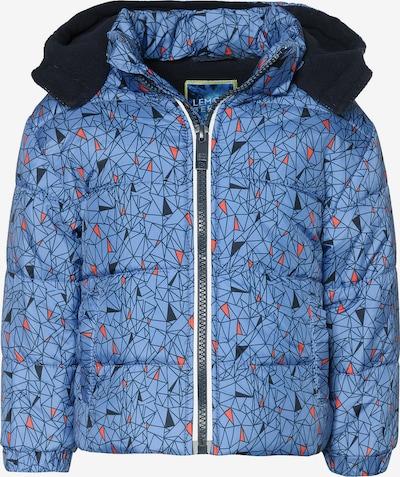LEMON BERET Winterjacke in blau / dunkelblau / orange, Produktansicht