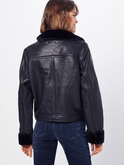 BE EDGY Prehodna jakna 'Bekristin' | črna barva: Pogled od zadnje strani