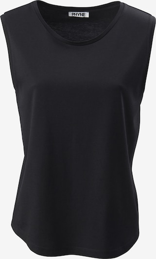 PHYNE The Tencel Tank Top in schwarz, Produktansicht