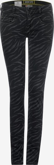 STREET ONE Jeans 'Jork' in de kleur Donkergrijs / Zwart, Productweergave