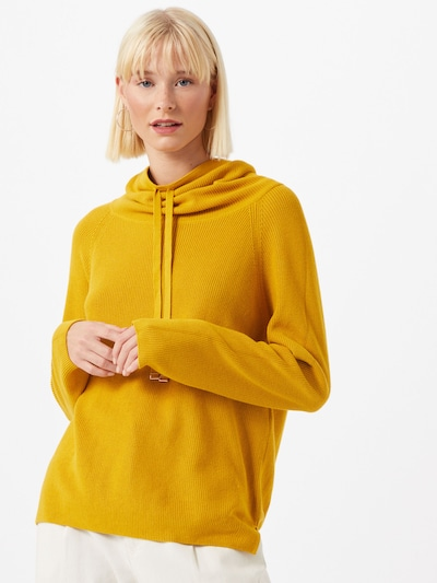 UNITED COLORS OF BENETTON Pullover in gold: Frontalansicht