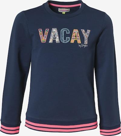 VINGINO Sweatshirt 'Noua' in dunkelblau / mischfarben / pink, Produktansicht