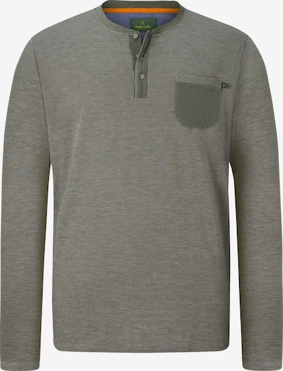 Charles Colby Shirt 'Earl Marcus' in de kleur Groen gemêleerd, Productweergave