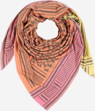Zwillingsherz Masque en tissu 'Jenny' en jaune / orange / rose, Vue avec produit