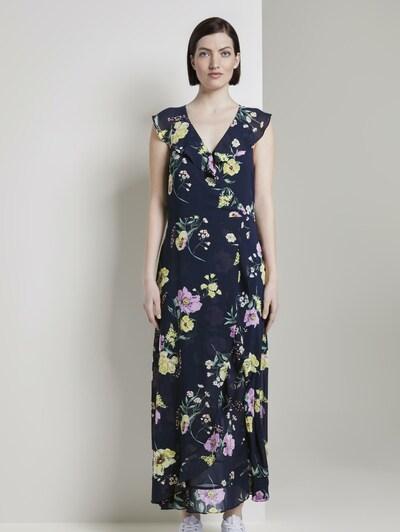 TOM TAILOR DENIM Kleid in blau / mischfarben, Modelansicht