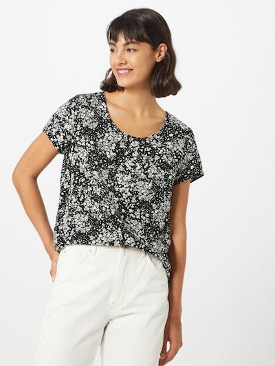 ONLY Blusenshirt 'Onlfirst' in schwarz / weiß, Modelansicht
