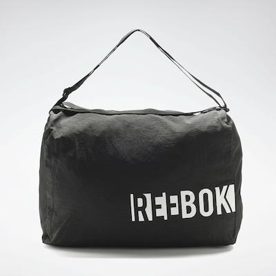 REEBOK Sporttas in de kleur Zwart / Wit, Productweergave
