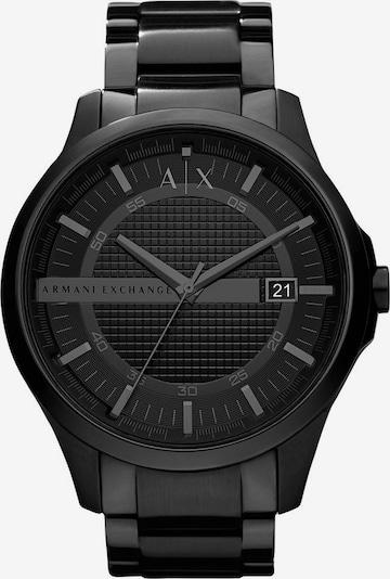 ARMANI EXCHANGE Armbanduhr in schwarz, Produktansicht