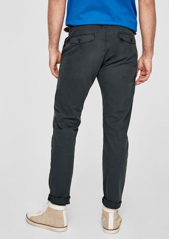 s.Oliver RED LABEL Sneck Slim: Chino mit Gürtel