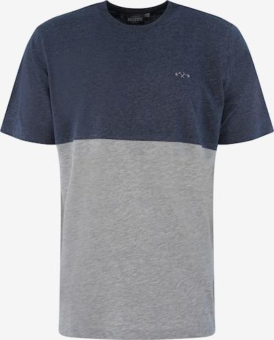 mazine T-Shirt 'Utica T' in blaumeliert / graumeliert, Produktansicht