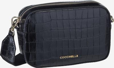 Coccinelle Umhängetasche ' Tebe Croco 55I1 ' in schwarz, Produktansicht