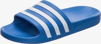 ADIDAS PERFORMANCE Slipper 'Adilette Aqua' in blau / weiß, Produktansicht