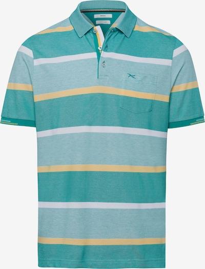 BRAX Shirt 'Paco' in pastellgelb / jade / pastellgrün, Produktansicht