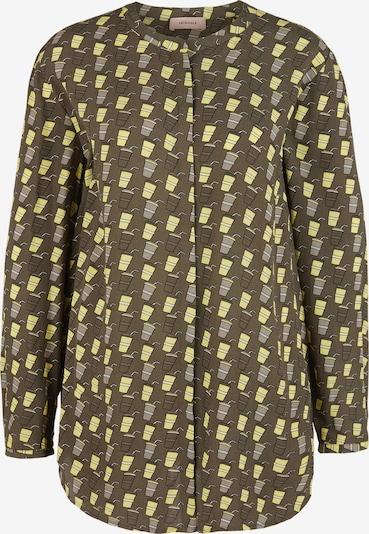TRIANGLE Bluse in gelb / khaki, Produktansicht