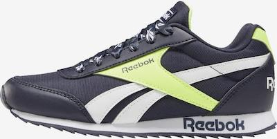 Reebok Classic Sneaker in blau / neongelb / weiß, Produktansicht