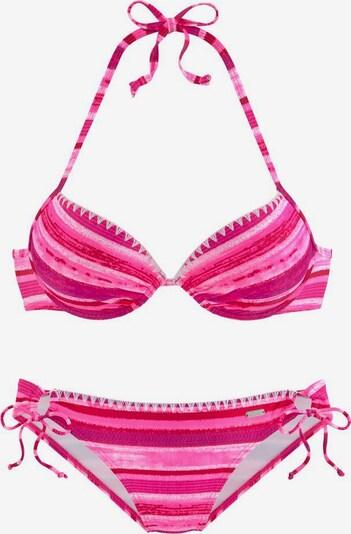 BUFFALO Bikini u roza / bijela, Pregled proizvoda