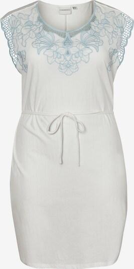 Junarose Kleid in hellblau / weiß, Produktansicht