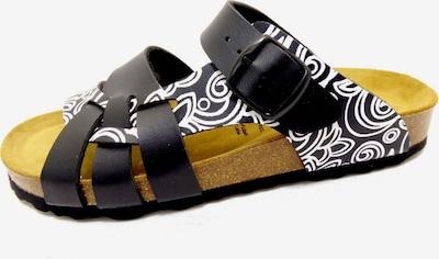 LICO Sandaal in de kleur Zwart / Wit, Productweergave