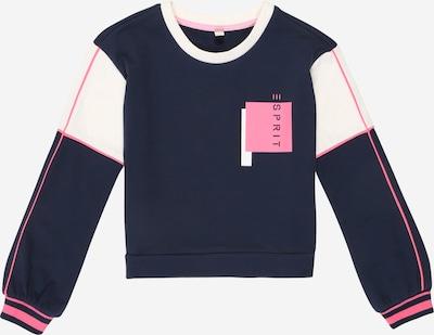 ESPRIT Sweatshirt in navy / pink / weiß, Produktansicht