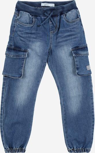 NAME IT Jeans 'Baggy' in blue denim: Frontalansicht