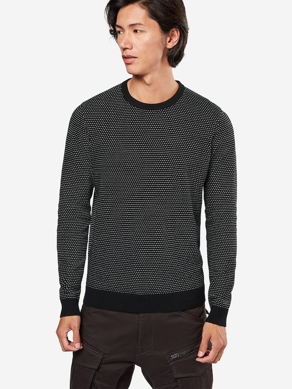 YOURTURN Pullover 'repeat mesh'