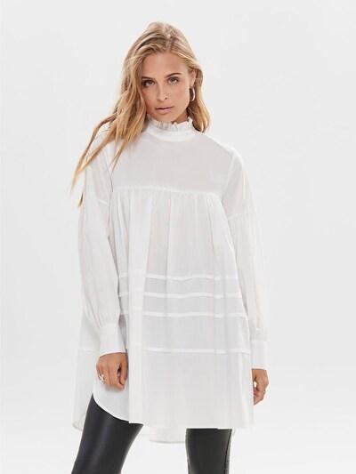 ONLY Kleid 'Popeline' in weiß, Modelansicht