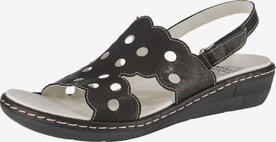 BRAKO Sandalen in schwarz, Produktansicht