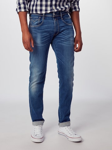 REPLAY Jeans 'Anbass' in Blau