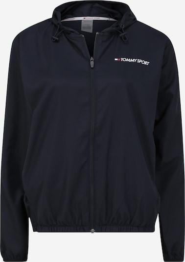 Tommy Sport Veste de sport en bleu nuit, Vue avec produit
