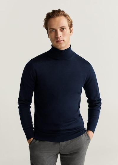 MANGO MAN Pullover 'Willyt' in ultramarinblau, Modelansicht