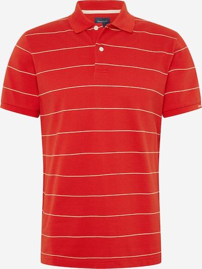 GANT Shirt 'D1.' in orangerot / weiß, Produktansicht